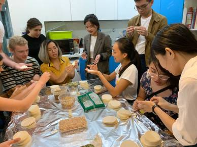 Workshop Dumplings - Sprachschule Shanghai